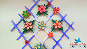 diy quill paper wall hangers for room decoration paper quilling