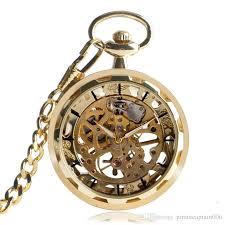 vintage necklace pocket watch images Vintage watch necklace steampunk skeleton mechanical fob pocket jpg