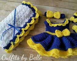 blue baby dress etsy