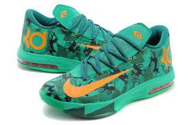 kd vi easter cheap men s nike kd 6 easter basketball shoes light lucid green