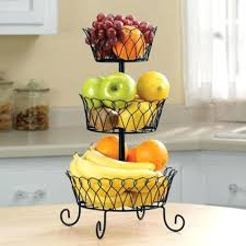fruit basket ideas fruit storage basket awesome wall mounted baskets kitchen best