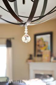Orb Chandelier Diy Orb Chandelier Whats Ur Home Story