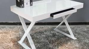 Glass Office Desk White Glass Desk Decoration Lofihistyle White Glass Desk