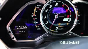 lamborghini aventador rev lamborghini lp700 4 aventador dash view with cold engine rev