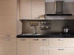 Wood Veneer For Kitchen Cabinets by Modern Wood Veneer Mdf Plywood Melamine Kitchen Cabinet