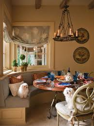 French Country Dining Room Ideas Photos Hgtv French Country Dining Room With Banquette Seat Loversiq