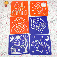 aliexpress com buy 12designs set halloween stencils for painting