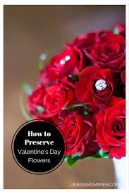 Preserve Flowers How To Preserve Flowers From Valentine U0027s Day Urban Mommies