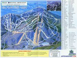 Mt Snow Trail Map Jay Peak Trail Map U2022 Piste Map U2022 Panoramic Mountain Map