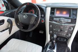 nissan sedan 2016 interior nissan patrol 2016 nismo in uae new car prices specs reviews