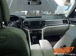 volkswagen california interior forget the teramont vw will name its new suv the atlas