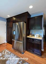 Maple Cabinet Kitchen Maple Cabinets With Coffee Stain Finish Kitchens By Red Oak