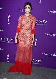 mandy moore u0027s backless dress steals show at 19th cdgas daily