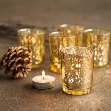 mercury tea light holders sample 1 single gold mercury glass candle votive mercury glass tea