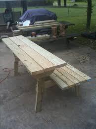folding bench picnic table plans bench decoration