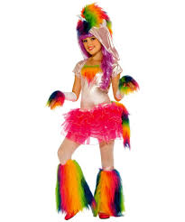 Unicorn Halloween Makeup by Rainbow Unicorn Kids Halloween Costume Girls Costumes