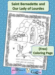 immaculate conception coloring page free mary the undoer of knots