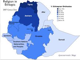 Map Of Ethiopia Geocurrents Maps Of Ethiopia Geocurrents