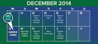 only one banking day during the holidays moneymax ph