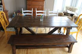 Ana White Truss Coffee Table Diy Projects by Ana White 4x4 Truss Beam Table And Bench Diy Projects