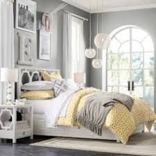 guest bedroom gray white and yellow guest bedroom frugal