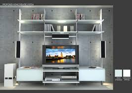 Modern Home Design Wallpaper Modern Home Theater With Built In Bookshelf By Modu Home Zillow