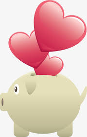 heart shaped piggy bank deliberately heart shaped piggy bank png image and clipart
