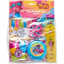party city halloween treat bags trolls party favor pack value pack party supplies walmart com