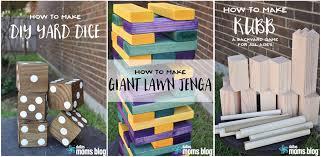 How To Make Backyard Jenga by Diy Backyard Games And Free Printable Cooties Game Our