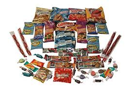 thinking of you care package snack gift basket care package with 26 sweet and salty snacks plus