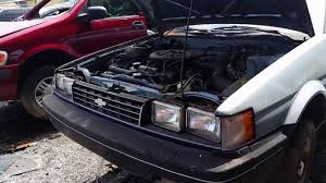 car junkyard wilmington ca junkyard find 1988 chevy nova youtube