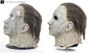 michael myers mask original halloween michael myers mask original prop restoration tom spina designs