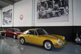 porsche signal yellow sold classics legendary classics