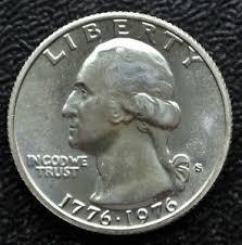1776 to 1976 quarter dollar 1776 1976 s usa quarter dollar silver washington