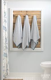 Towel Rack Ideas For Bathroom Diy Towel Holders To Spruce Up Your Bathroom