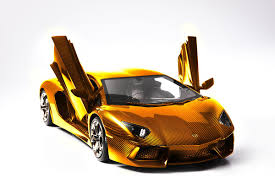 lamborghini gold lamborghini carves the most expensive model car x gold