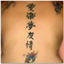chinese symbol tattoos for body girls toycyte