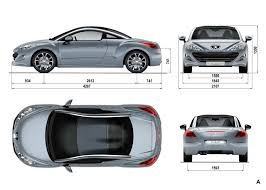 peugeot sports car peugeot rcz car body design