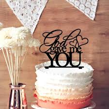 monogram wedding cake topper 2018 monogram wedding cake topper god gave me you custom words