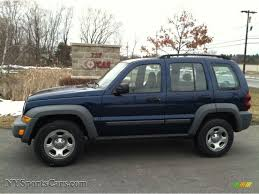 2005 jeep liberty sport in patriot blue pearl 664305