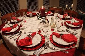 decoration dinner table of dining table decorating ideas gallery