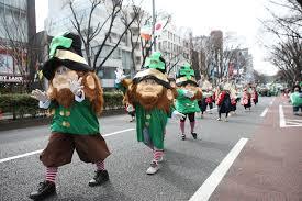 irish network japan the 25th tokyo st patrick u0027s day parade