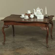 antique rustic chippendale coffee table inessa stewart u0027s antiques