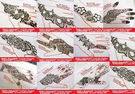 diy designs top 10 diy best beautiful fancy strip henna mehndi designs for