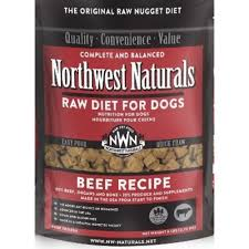 northwest naturals complete and balanced beef recipe nuggets grain f