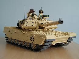 lego army tank m1a1 abrams flickr