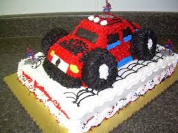 childrens monster truck videos cakes children u0027s birthday cakes