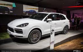 New Porsche Cayenne - premiere of new porsche cayenne u2013 p9xx