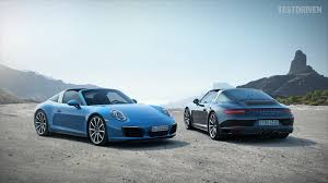 targa porsche 2016 porsche 911 targa 4 and targa 4s youtube