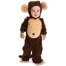 baby halloween costumes monkey lovely monkey infant halloween costume walmart com